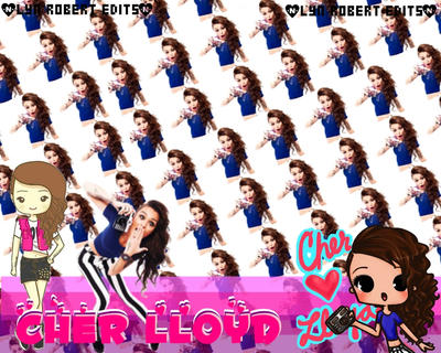 Cher Lloyd Collage Blend Edit by MsPinkySparkles