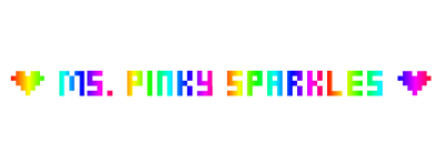 My Own PNG Rainbow Text by MsPinkySparkles