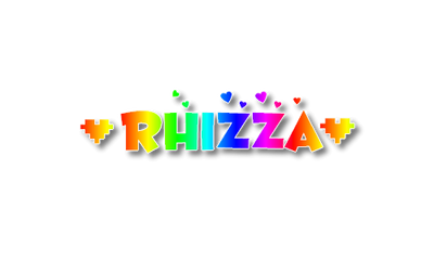 Rhizza Rainbow PNG Text by MsPinkySparkles