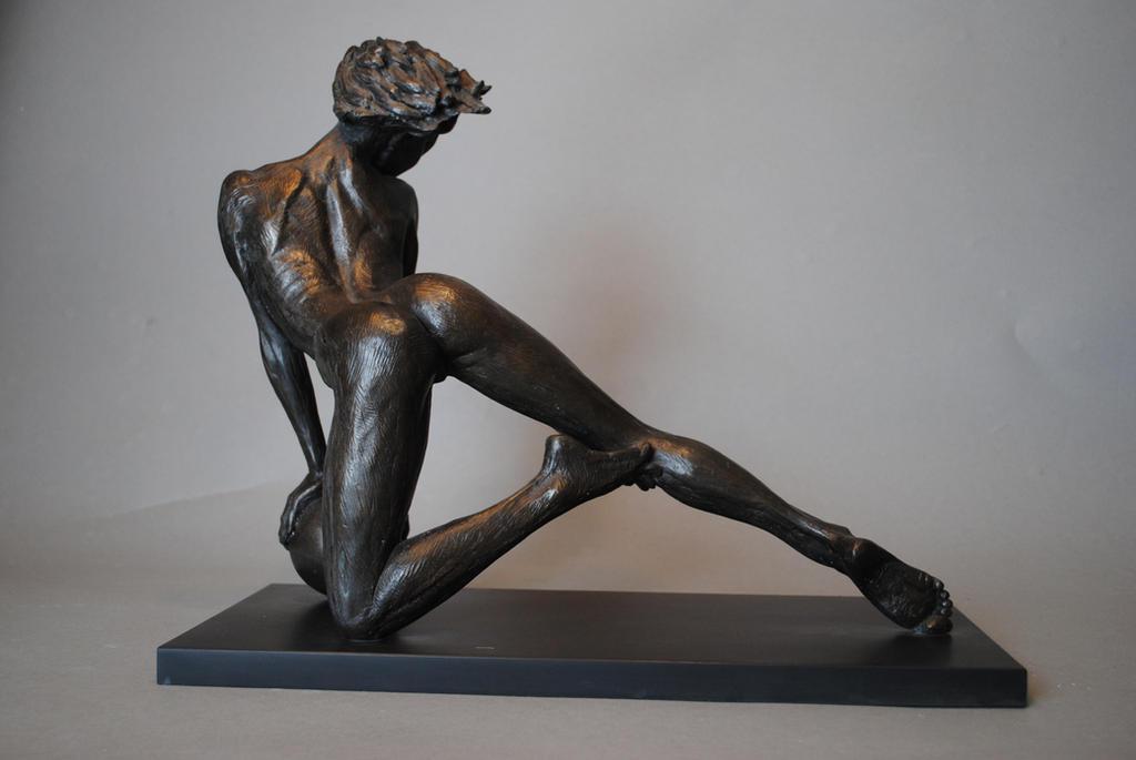 Nude female dancer. by ruskybird