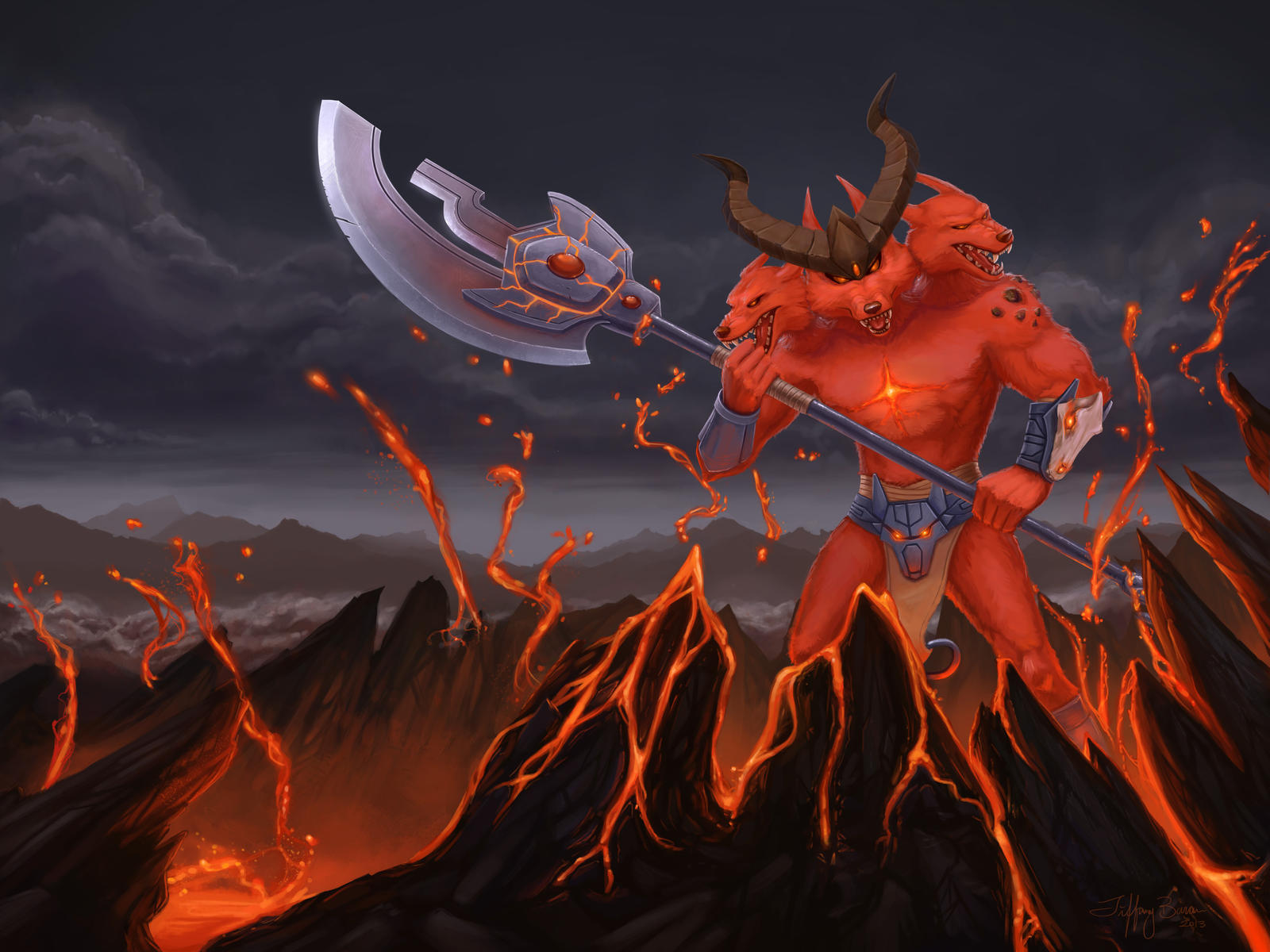 Infernal Nasus Splash Art Hasshecom