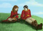 Gwyndelyn and Harry