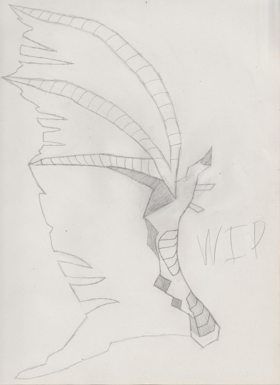 Dragon Wing (WIP) by HeadlongEquestria