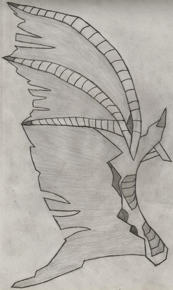 Dragon Wing by HeadlongEquestria