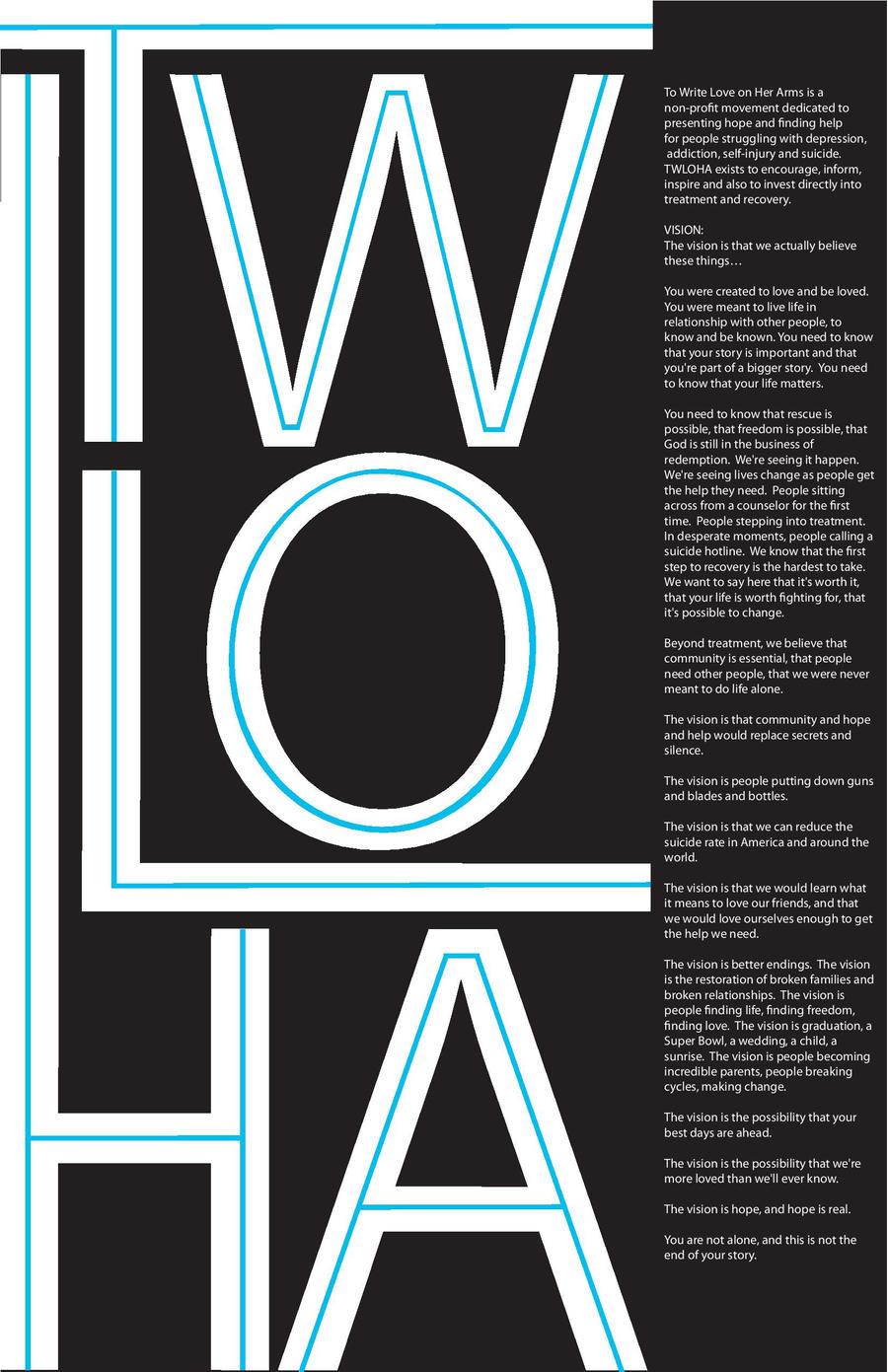 TWLOHA Promotional Poster