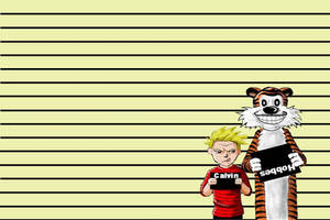 Wanted-Calvin and Hobbes W.I.P by Les718