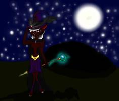 Fuzzy witch (Draw'o Ween) by CuriousDragonChild