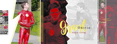 Grant Gustin | FREE Facebook Cover by GraphicsUniverse