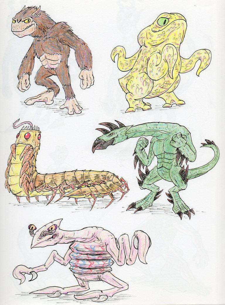 Animorphs Races 1 by Monster-Man-08