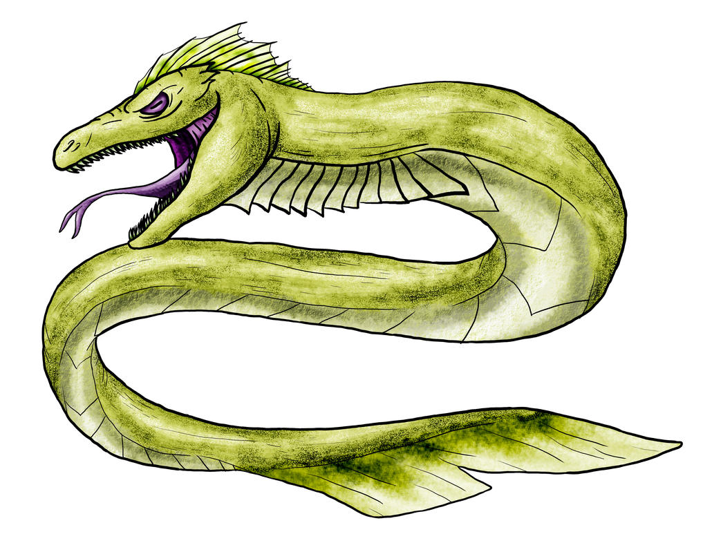 Visser: Sea Serpent by Monster-Man-08