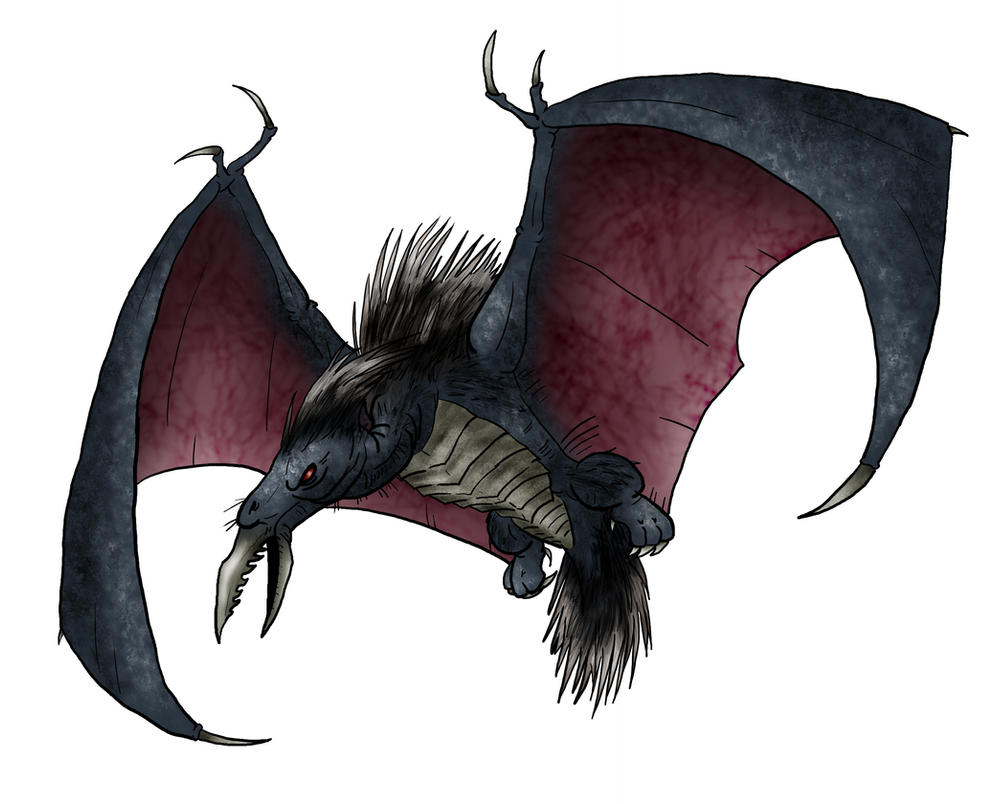 Visser: Porcudactyl by Monster-Man-08