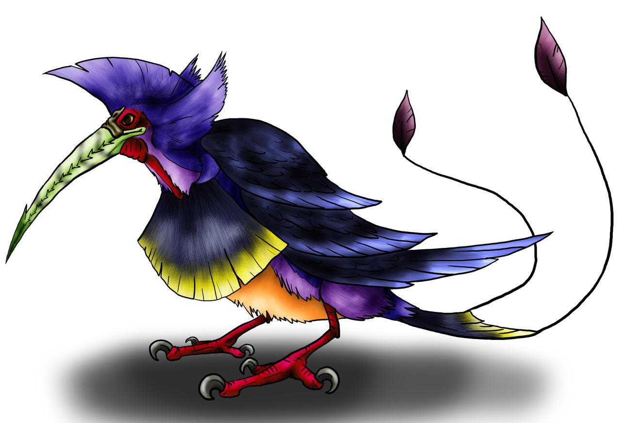 Visser: Kafit Bird by Monster-Man-08