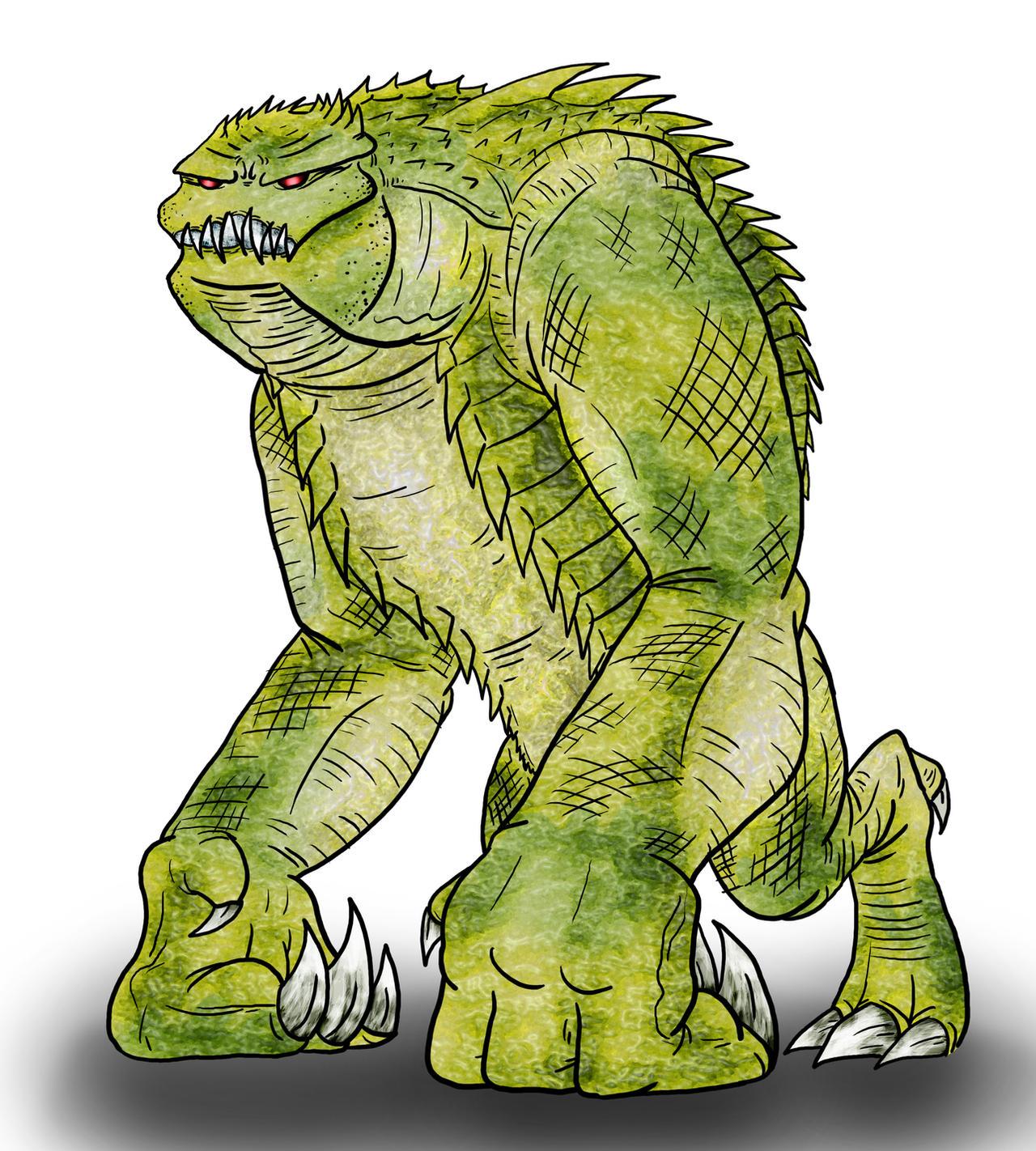 Visser: Alligorilla by Monster-Man-08