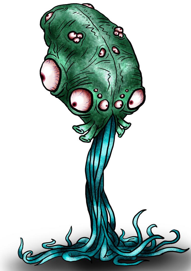 Visser: Squiddly 3 by Monster-Man-08