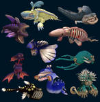 Spore Sea Monsters