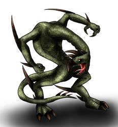 Animorphs Races: Hork-Bajir by Monster-Man-08