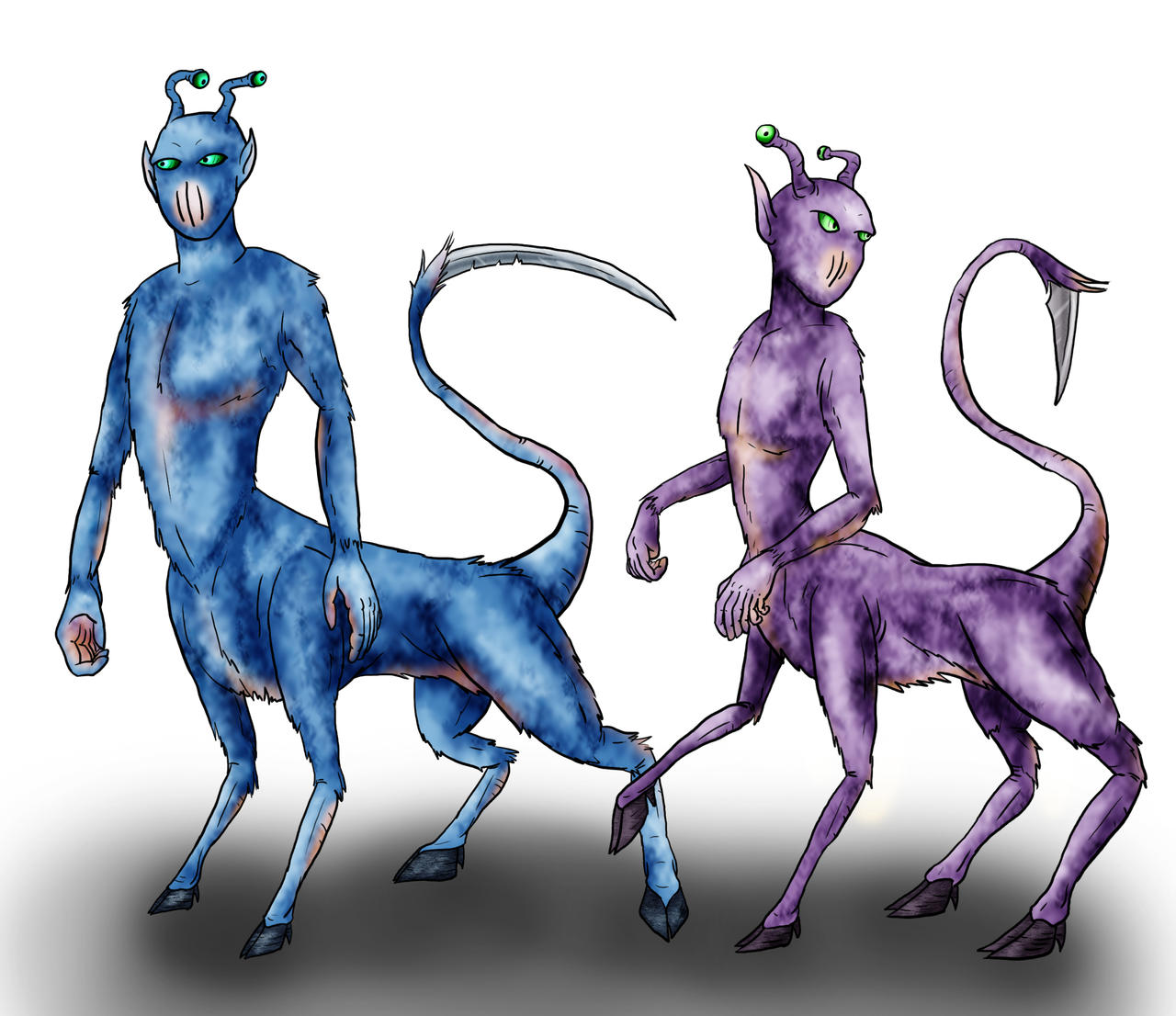 Animorphs Races: Andalites by Monster-Man-08