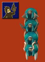 Spore Races - Warrior by Monster-Man-08