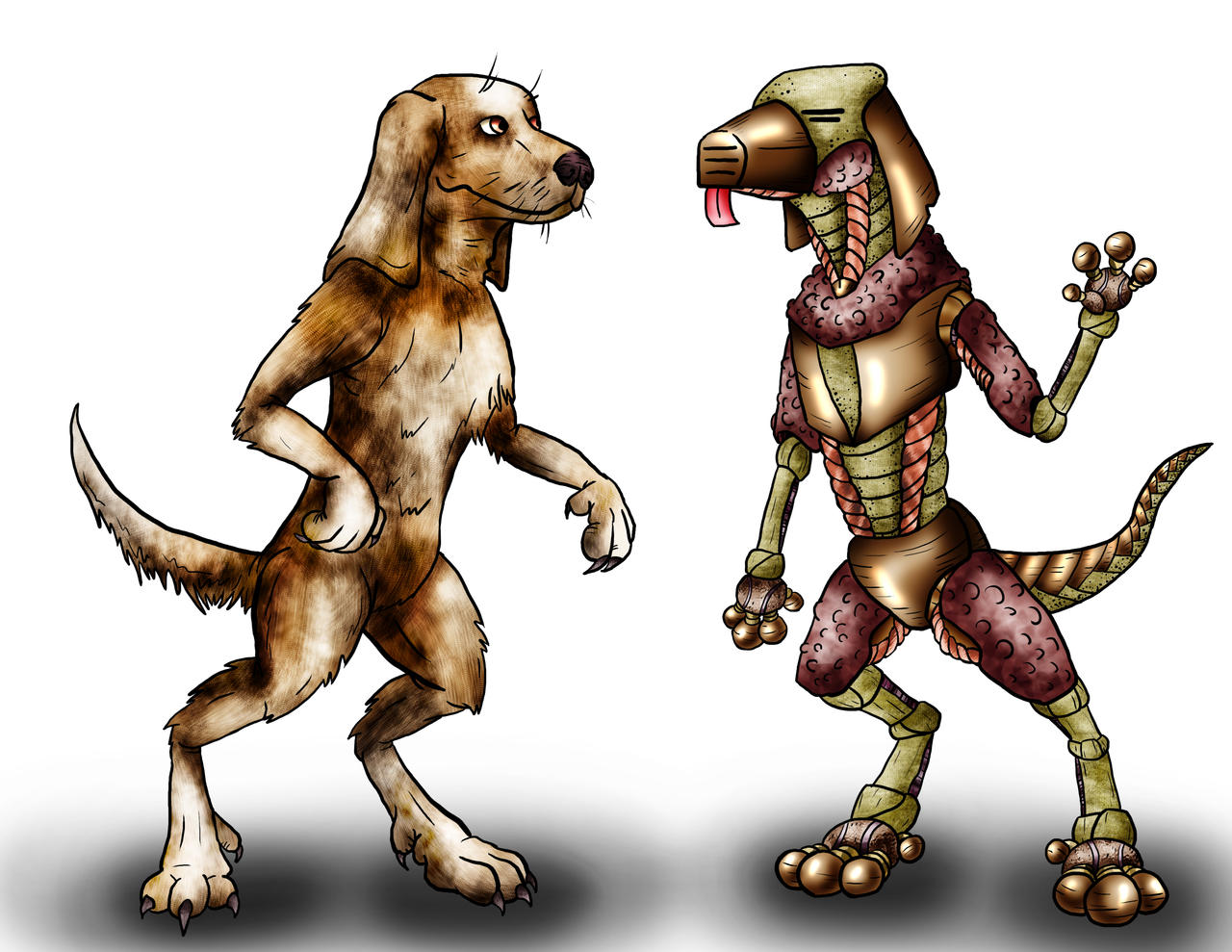 Animorphs Races: Pemalite+Chee by Monster-Man-08