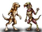 Animorphs Races: Pemalite+Chee