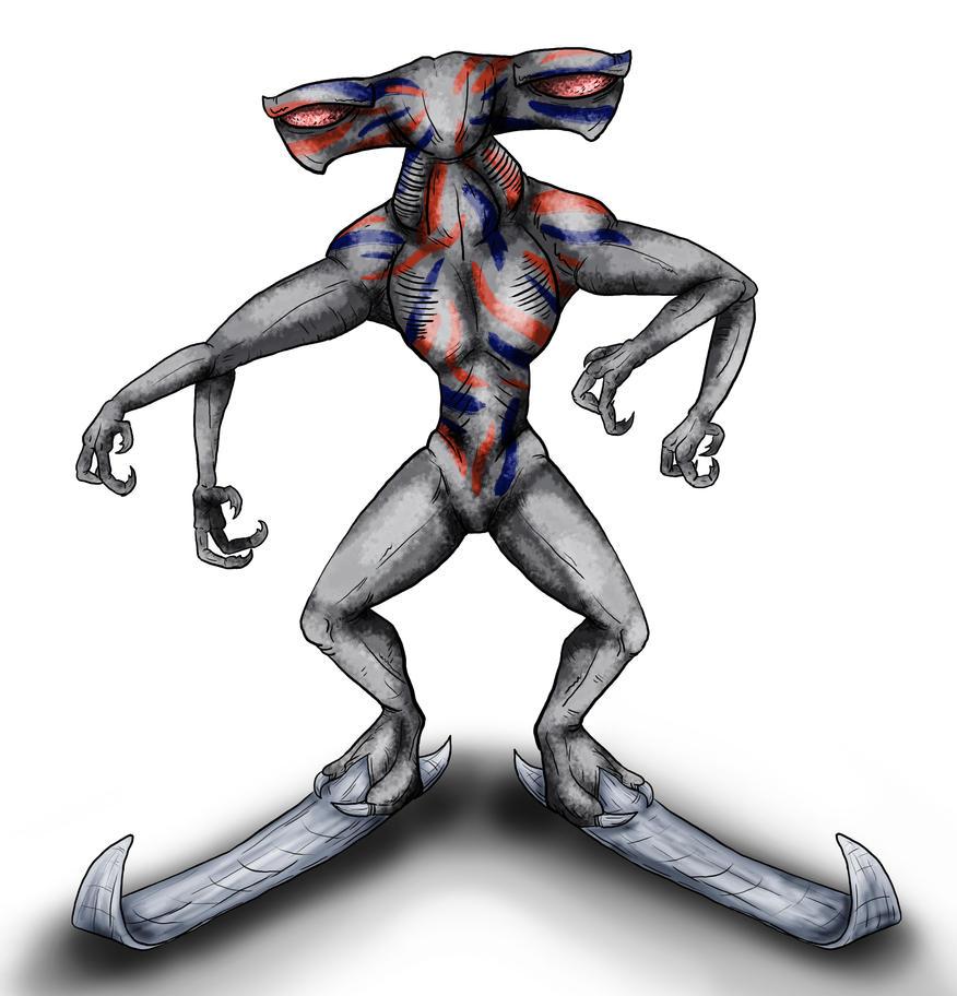 Animorphs Races: Venber by Monster-Man-08