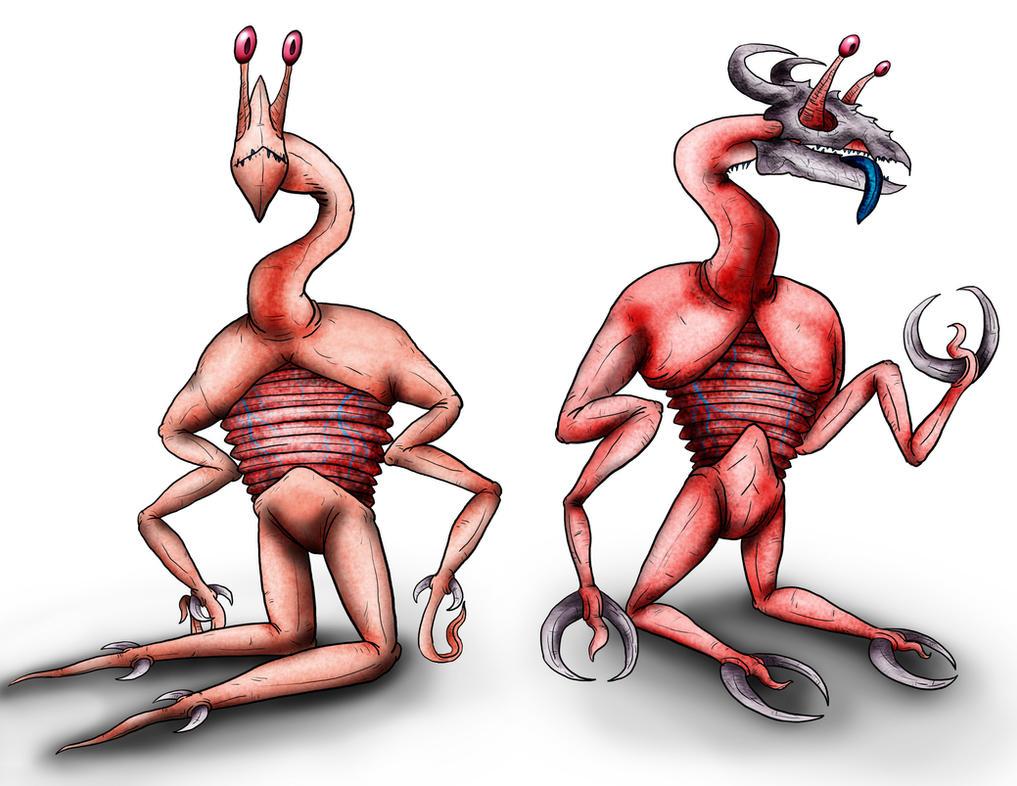 Animorphs Races: Iskoort by Monster-Man-08