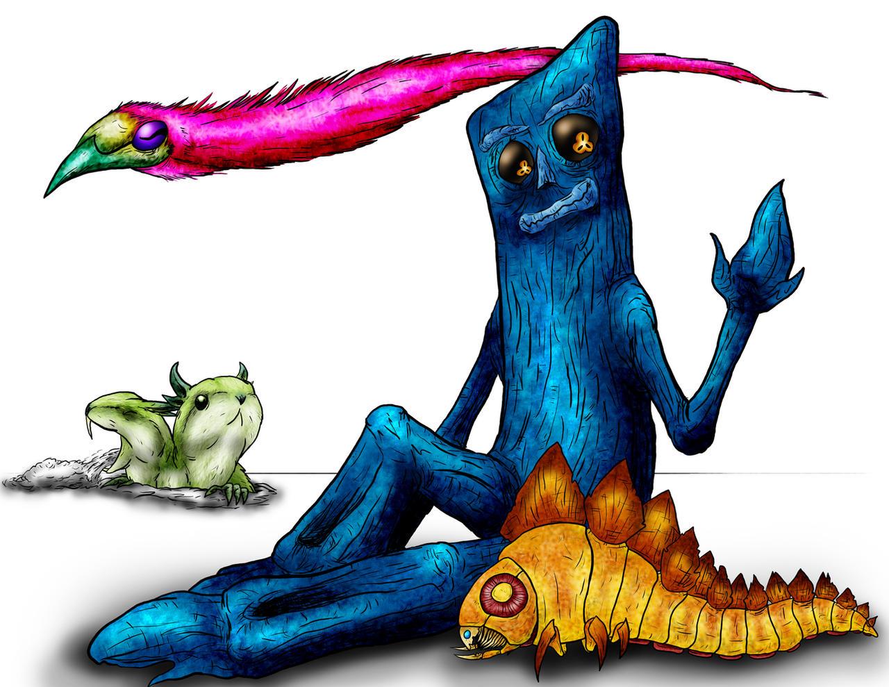 Animorphs: Graffen's Children by Monster-Man-08
