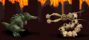 Sporezilla by Monster-Man-08