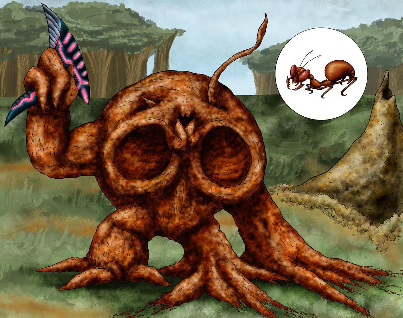 Animorphs Races: Nesk by Monster-Man-08