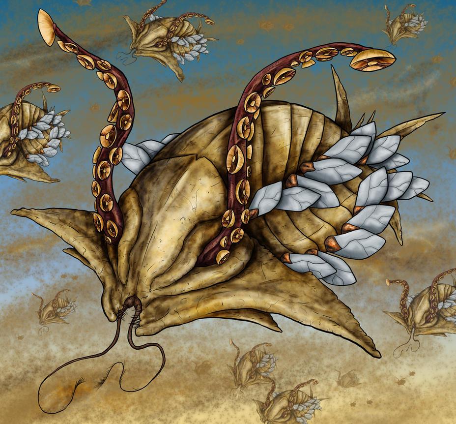 Animorphs Races: Veleek by Monster-Man-08
