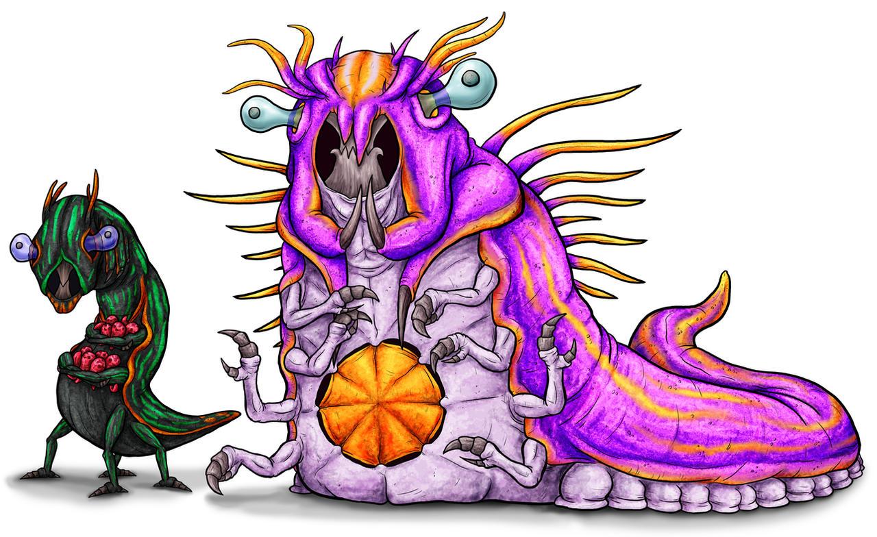 Animorphs Races: Jallians by Monster-Man-08