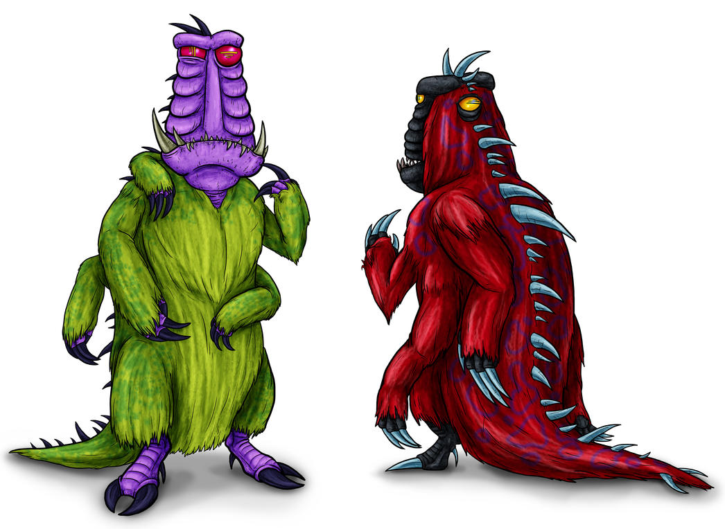 Animorphs Races: Unemites by Monster-Man-08