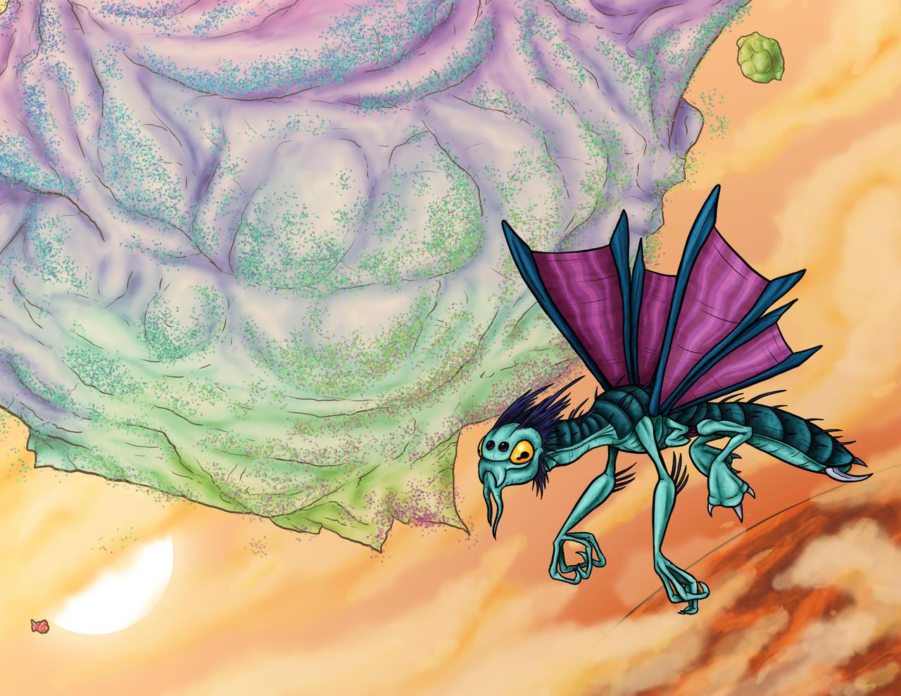 Animorphs Races: Ketran by Monster-Man-08