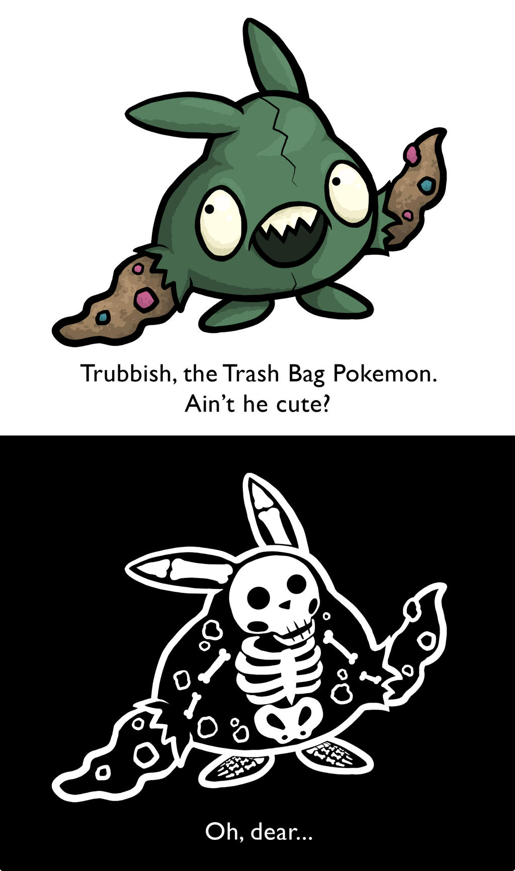NEW Pokemon Thread - Page 3 Trubbish_by_monster_man_08-d38vwo5