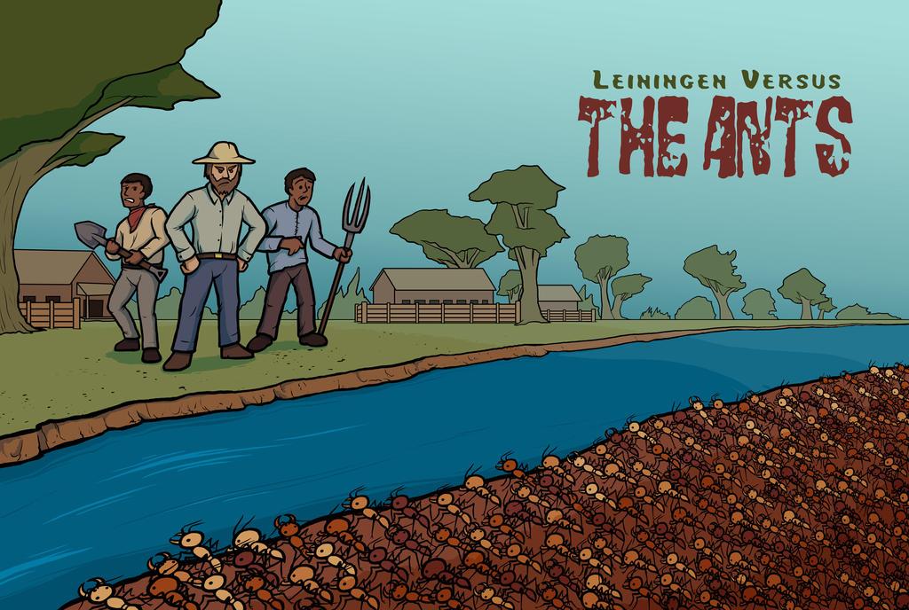 Leiningen Versus The Ants Study Questions