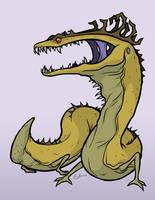 Colchian Dragon by Monster-Man-08