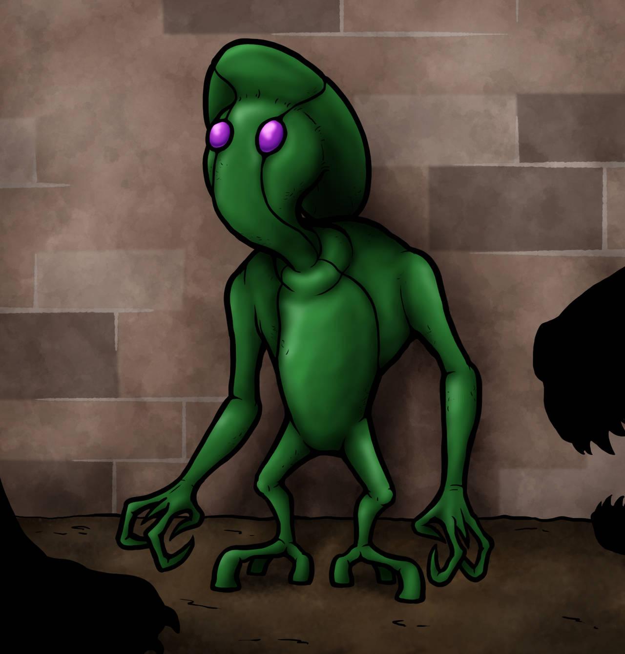 Farmersville Green Man by Monster-Man-08