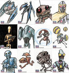 Star Wars Galaxy Sketch Cards - 01