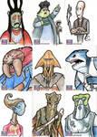 Star Wars Galaxy Sketch Cards - 04
