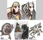 Star Wars Galaxy Sketch Cards - 09