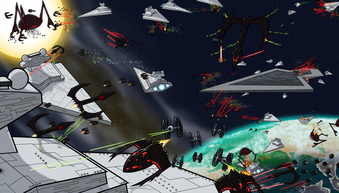 Yeerks VS Galactic Empire by Monster-Man-08