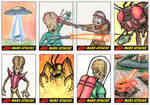 Heritage Mars Attacks! Sketch Cards - 10