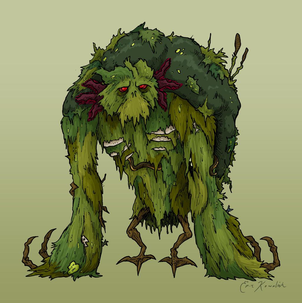 Halloween 13: Swamp Monster