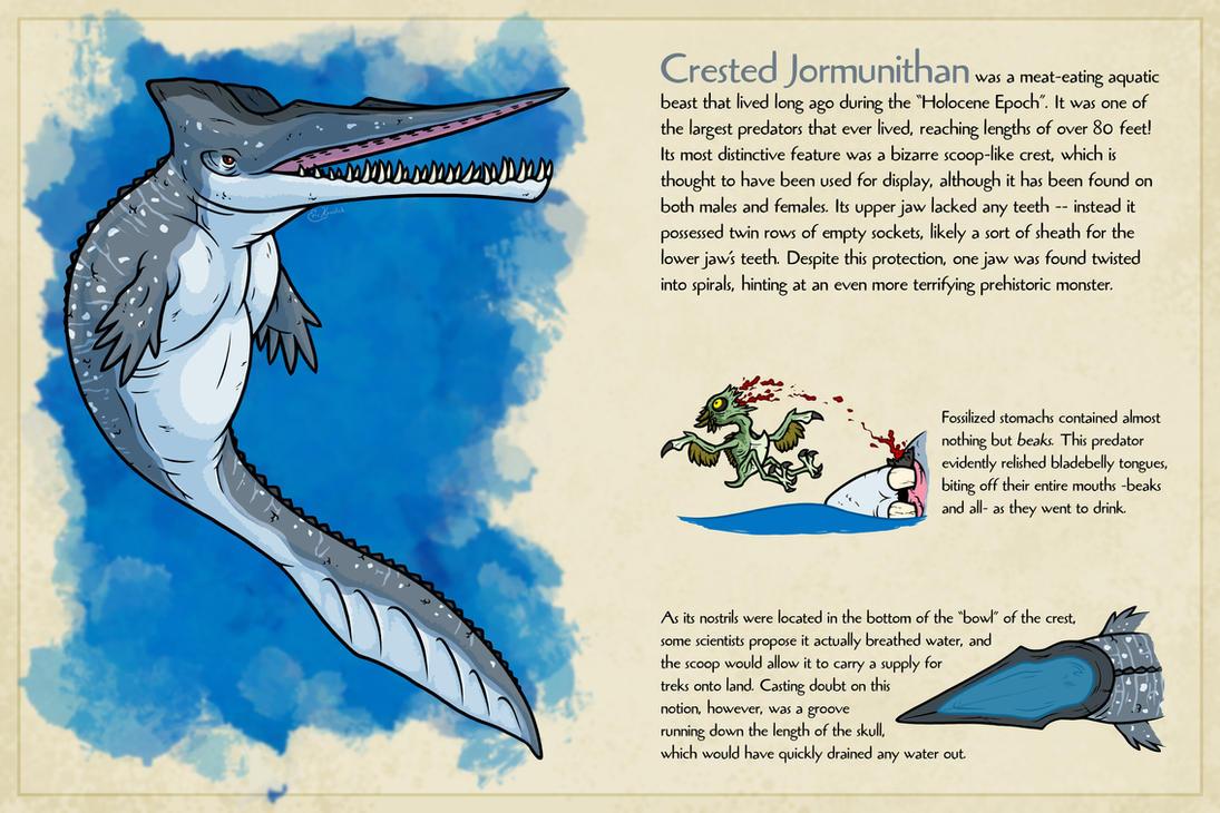 Crested Jormunithan by Monster-Man-08