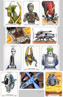 Star Wars Masterworks - Attack of the Clones by Monster-Man-08