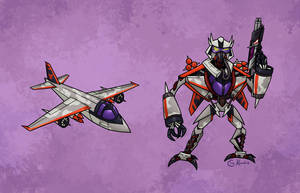 The Honorable Starscream by Monster-Man-08