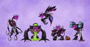 Decepticon Justice Division by Monster-Man-08