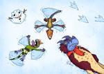 Christmasaurus snowangelus