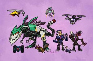 Decepti-Drones by Monster-Man-08
