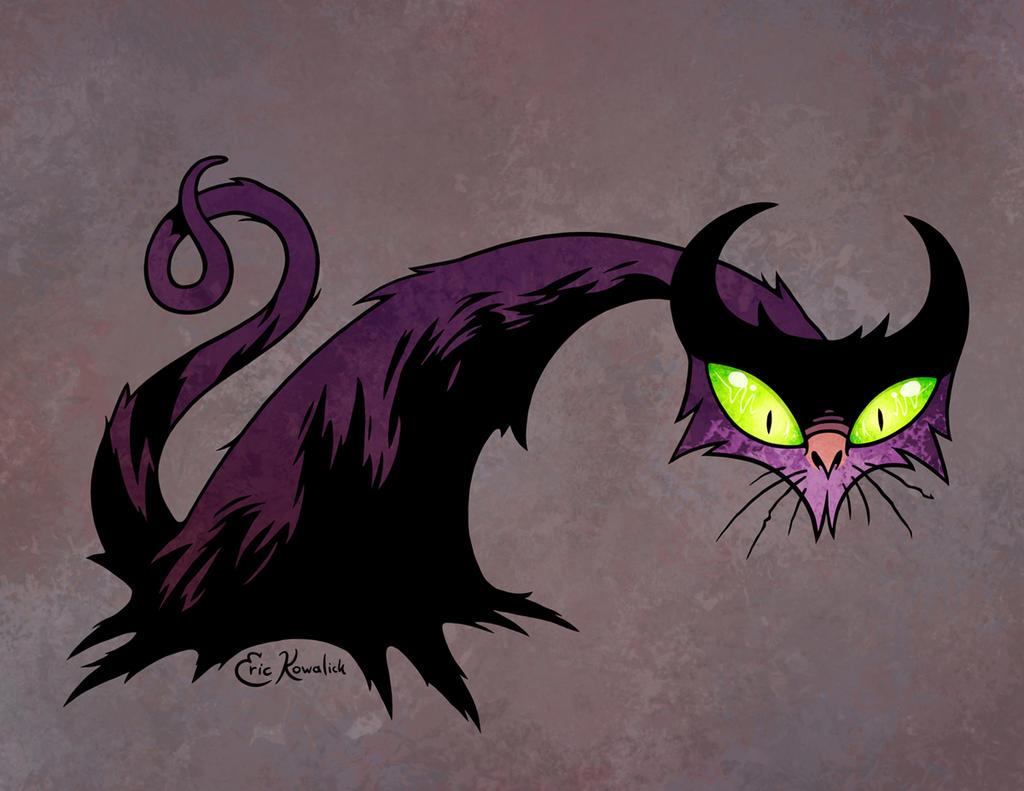 April Ghouls! Black Cat by Monster-Man-08
